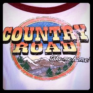 White Crow Country Roads Graphic Tee